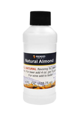 Natural Almond Flavoring Extract- 4 oz.