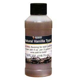 Natural Vanilla Flavoring Extract- 4 oz.