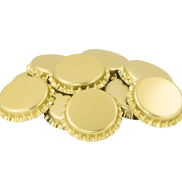 O2 Absorbing Gold Crown Caps- 144 ct.