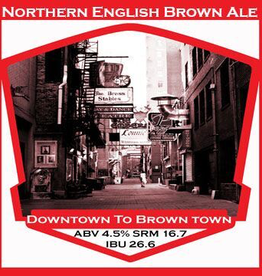 Downtown to Brown Town- PBS Kit **ALL GRAIN**