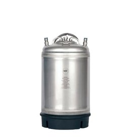 New 3 Gallon Ball Lock Keg- Single Handle