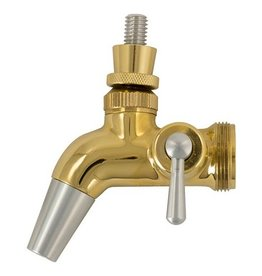 Intertap Gold Plated Flow Control Faucet