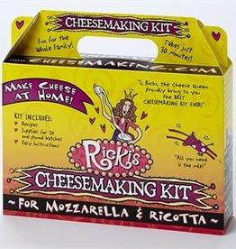 Cheese 30 Minute Mozzarella & Ricotta Cheese Kit