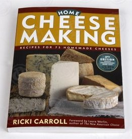 Cheese Home Cheese Making Book, Carroll