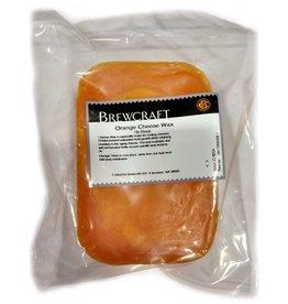 Cheese Orange Cheese Wax- 1 lb Block