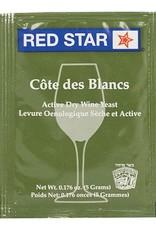 Wine Red Star Cote des Blanc Wine Yeast- 5 g.