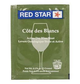 Wine Red Star Cote des Blanc Wine Yeast- 5 g.