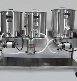 Horizontal Brew System - Electric Turnkey - 5gal Batch Size