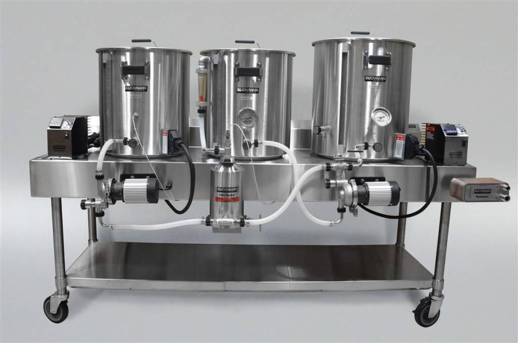 Horizontal Brew System - Electric Turnkey - 5gal Batch Size