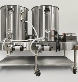 Horizontal Brew System - Electric Turnkey - 20gal BrewEasy
