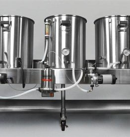 Horizontal Brew System - Electric Turnkey - 15gal Batch Size