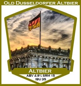 Old Dusseldorfer Altbier- PBS Kit