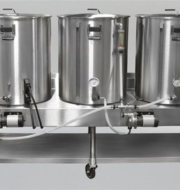 Horizontal Brew System - Electric Turnkey- 1BBL Batch Size - HERMS