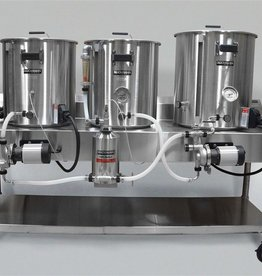 Horizontal Brew System - Electric Turnkey - 10gal Batch Size