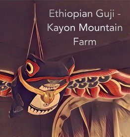 Coffee Ethiopian Guji - Kayon Mountain Farm Whole Bean 1 Lb Coffee