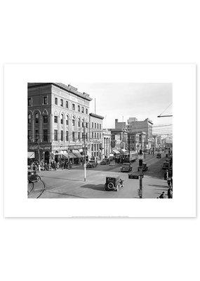 Jasper Avenue Looking East 1930