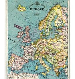 Cavallini Europe Map School Chart