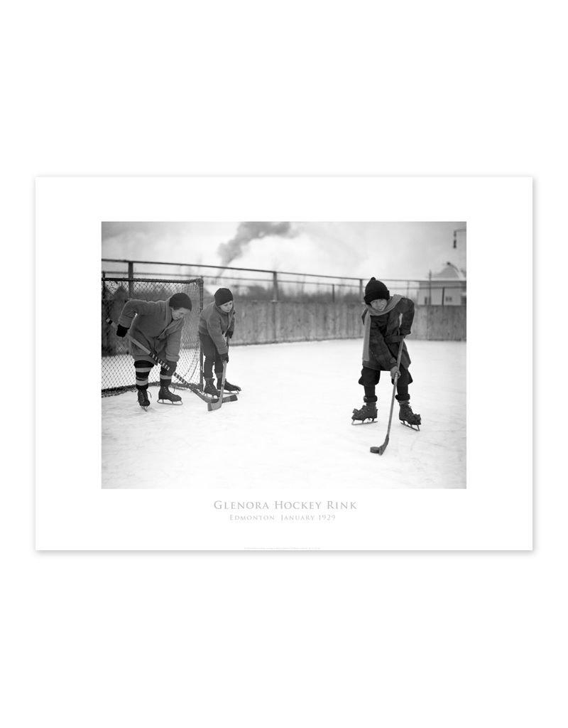 Glenora Hockey Rink 1929 Poster
