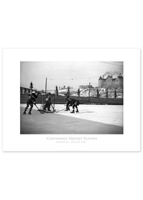Cloverdale Hockey Players 1926 Poster
