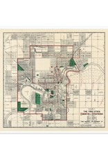 Twin Cities Map 1911