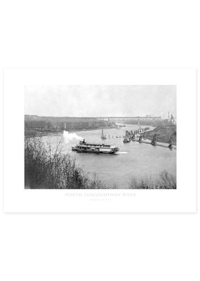 North Saskatchewan River 1913 Poster