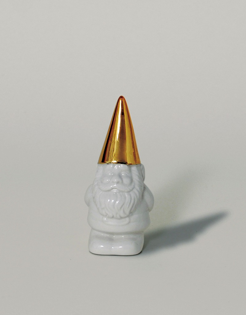 The Little Helpers Gnome Bottle Opener - Gold