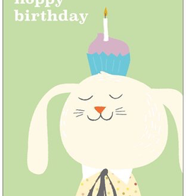 Vivid Print Hoppy Birthday Rabbit