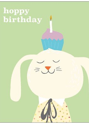 Hoppy Birthday Rabbit
