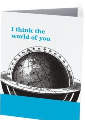 Vivid Print Think The World
