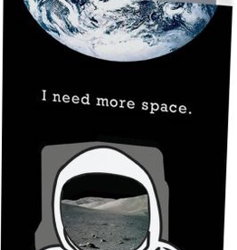 Vivid Print I Need More Space