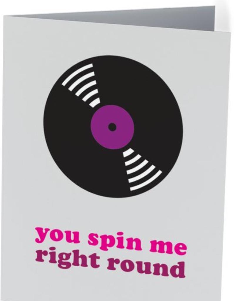 Vivid Print You Spin Me