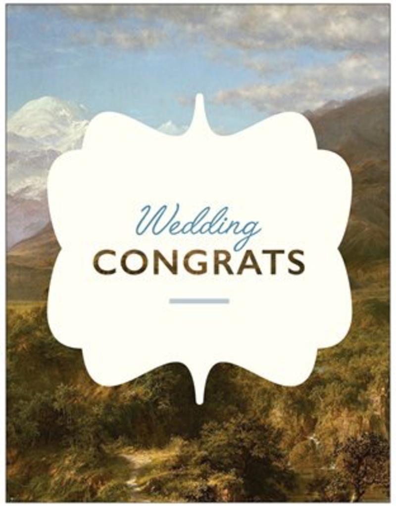 Vivid Print Wedding Congrats