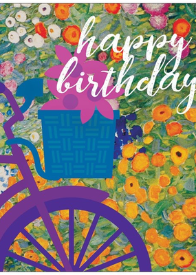 Vivid Print Birthday Bike