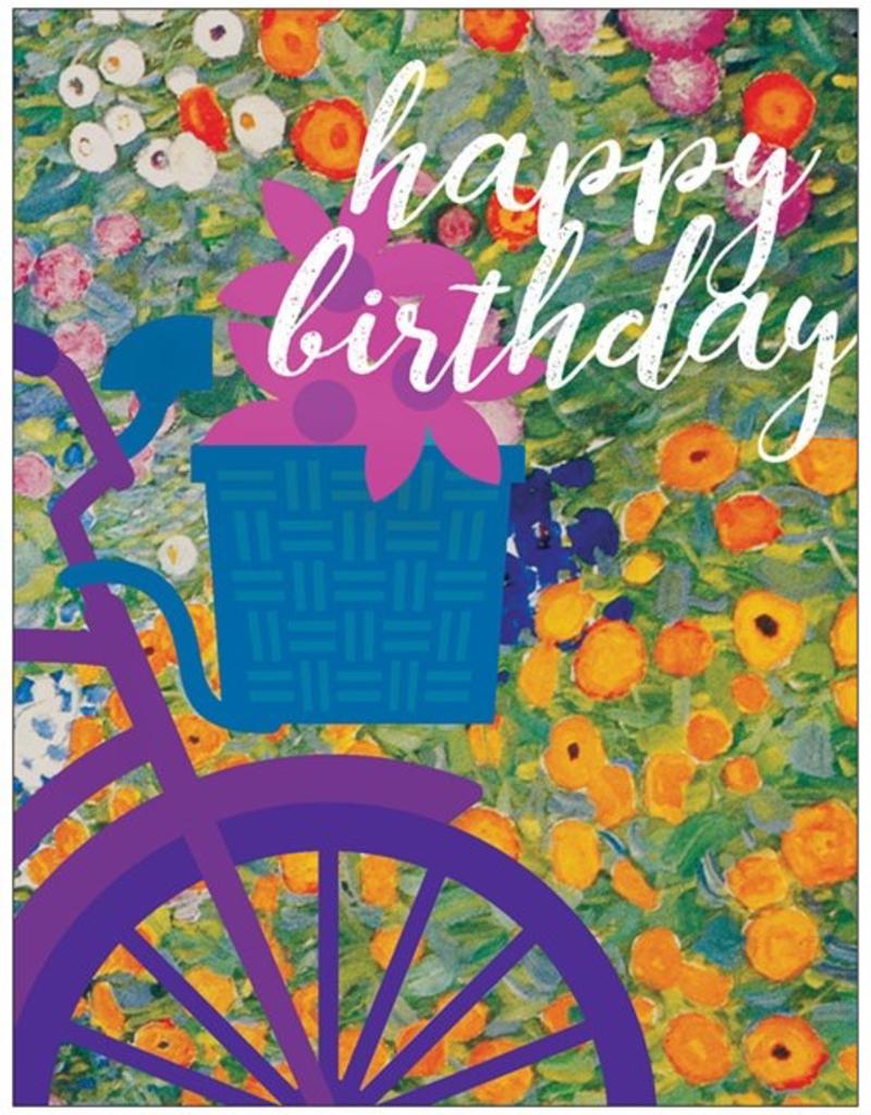 Vivid Print Birthday Bike