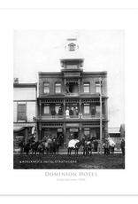 Dominion Hotel 1900 Poster