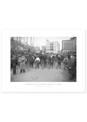 Edmonton Journal Bicycle Race 1919 Poster