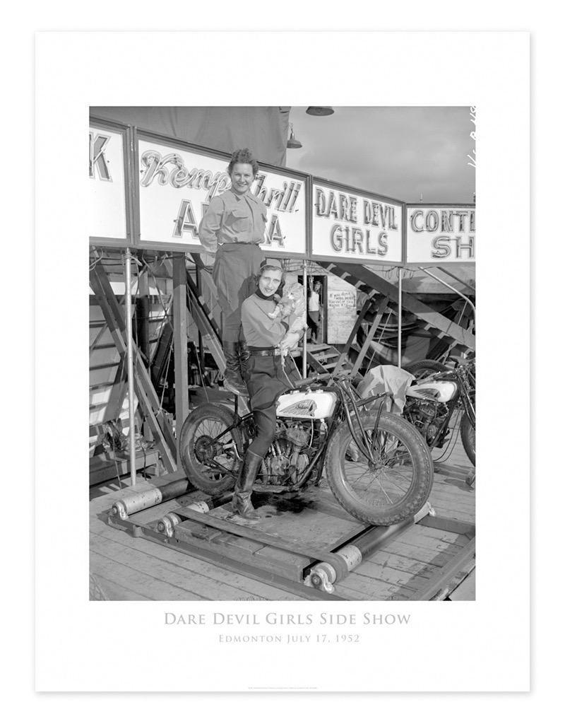 Dare Devil Girls 1952 Poster