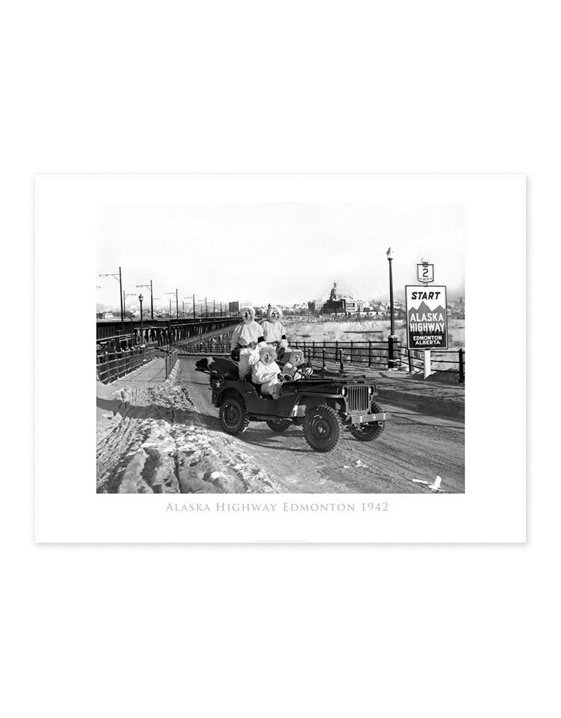 Alaska HIghway 1942 Poster