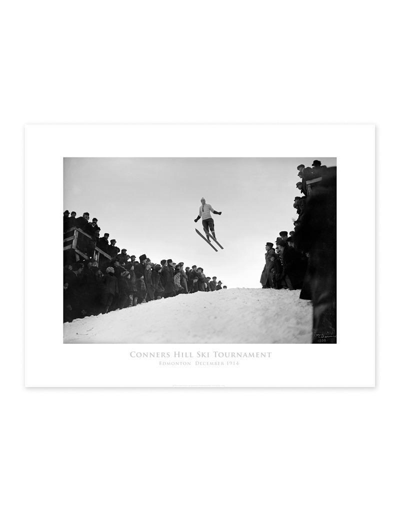 Connors Hill Ski Tournament 1914 Poster