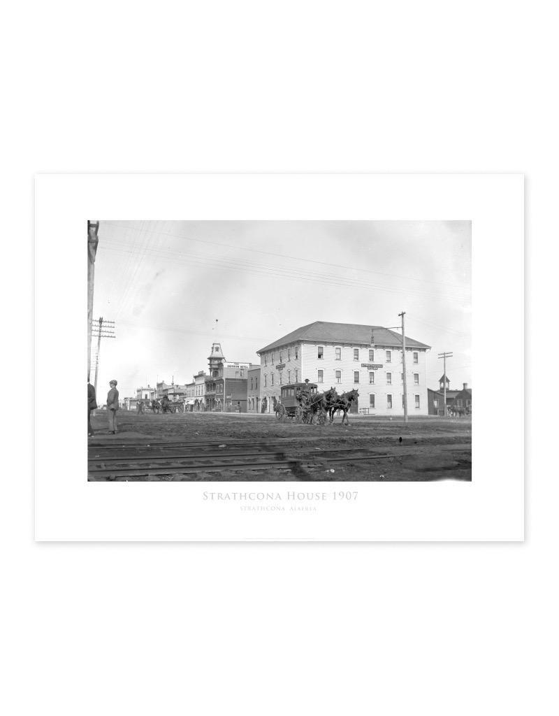 Strathcona House 1907 Poster
