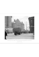 Truck of Hay Stalled on Jasper Avenue January 20, 1952 Poster