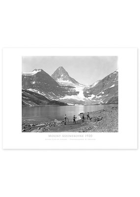 Mount Assiniboine, Alpine Club of Canada c. 1920 Poster