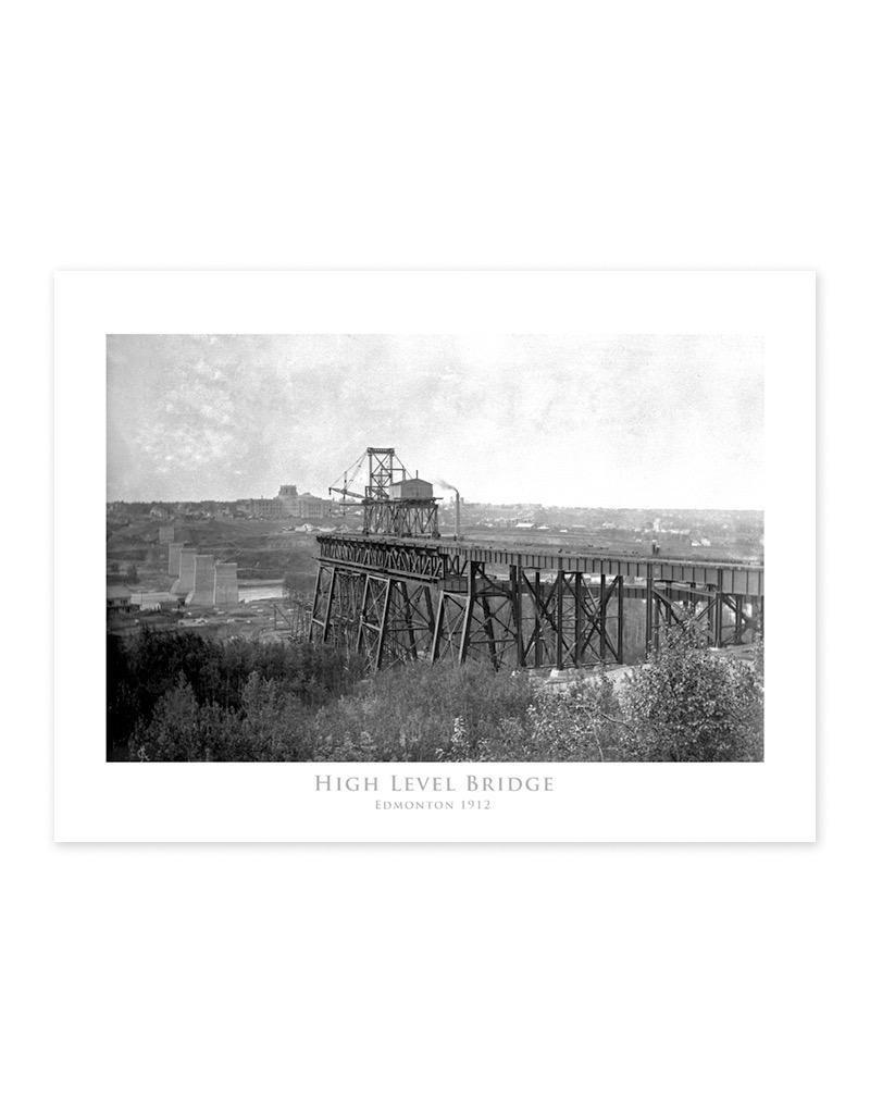 High Level Bridge April 1912 Poster