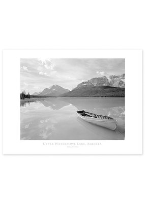 Upper Waterfowl Lake August 1957 Poster