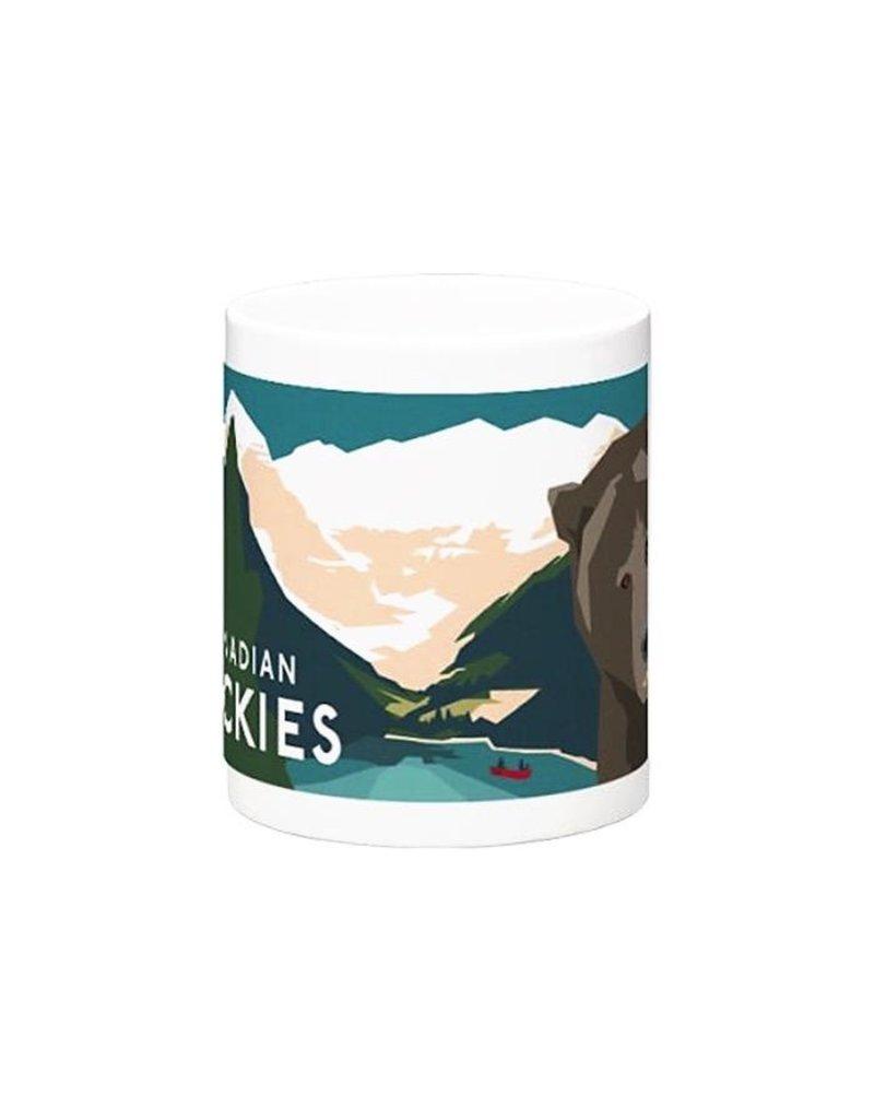 Bee Waeland Bee Waeland   Canadian Rockies Mug
