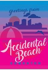 Vivid Print Accidental Beach