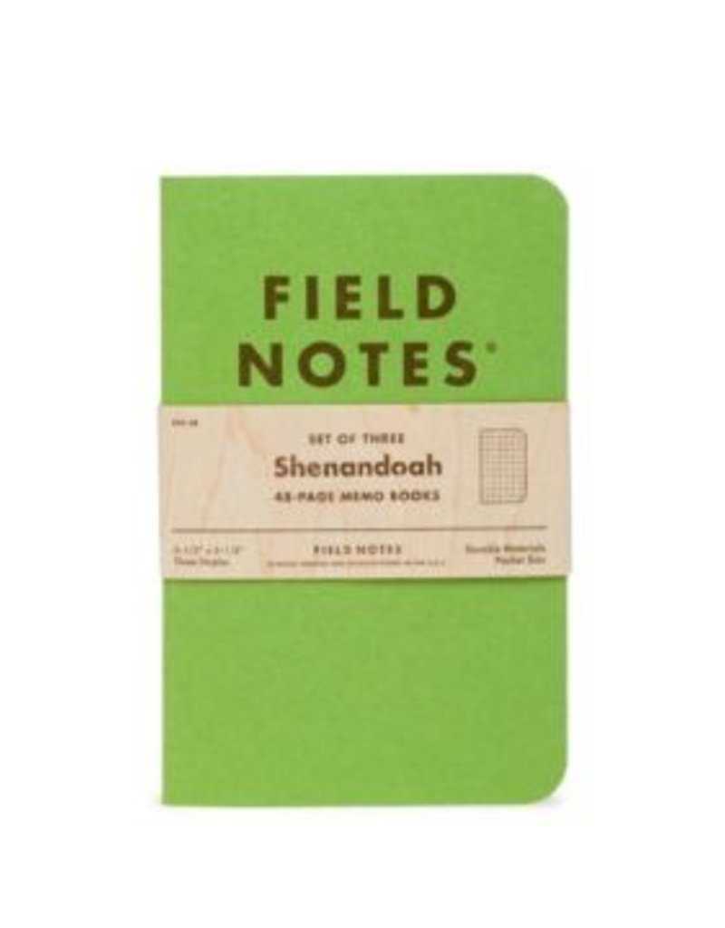 Field Notes Field Notes Shenandoah Edition