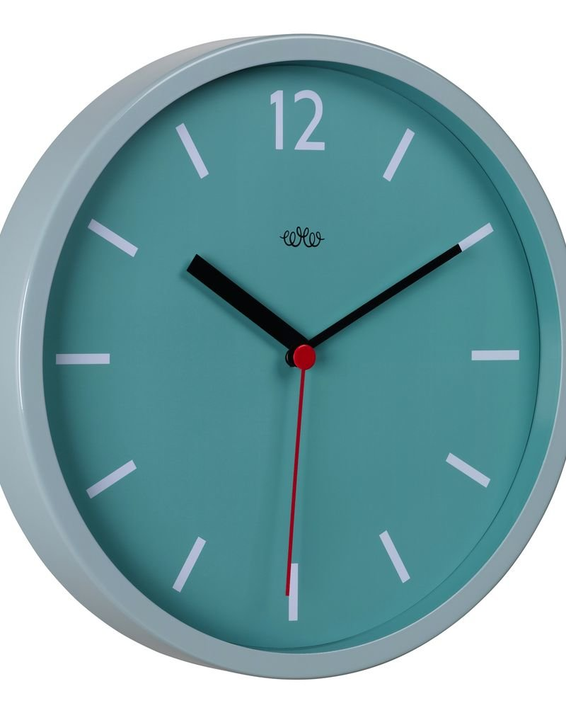 Wild & Wolfe Wall Clock French Blue 12""