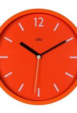 "Wild & Wolfe Wall Clock Goldfish Orange 12"""