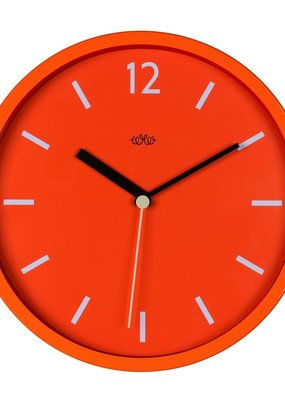 Wild & Wolfe Wall Clock Goldfish Orange 12""